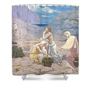 The Shepherd's Song, 1891 Shower Curtain