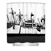 The Ship Shower Curtain