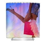 The Shopper Shower Curtain