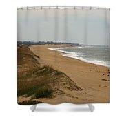 The Shoreline Shower Curtain