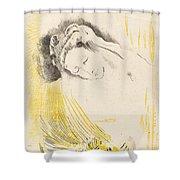 The Shulamite  Shower Curtain