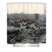 The Siege Of Sevastopol Shower Curtain