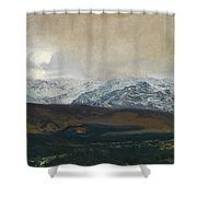 The Sierra De Guadarrama Shower Curtain