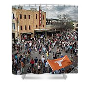 The Sights And Sounds Of Sxsw Are Enormous From 6th Street As Thousands Of Revelers Fill The Streets Shower Curtain