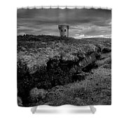 The Signal Tower, Glen Head Shower Curtain