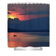 The Silence In Me... Shower Curtain