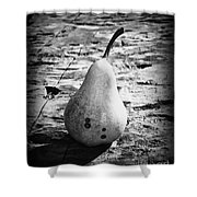 The Simple Pear Shower Curtain