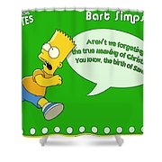 The Simpsons Shower Curtain