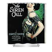 The Siren Call Shower Curtain
