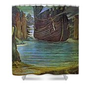 The Sirens Shower Curtain