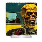 The Skull Shower Curtain