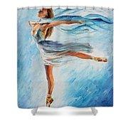 The Sky Dance Shower Curtain