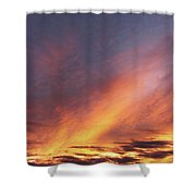 The Sky How It Moves Me Shower Curtain