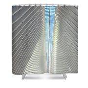 The Skylight Of  The Oculus Shower Curtain