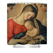 The Sleeping Christ Child Shower Curtain by Il Sassoferrato