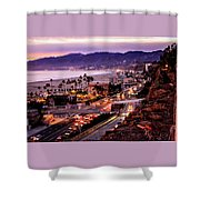 The Slow Drive Home Shower Curtain