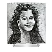 The Smile Shower Curtain