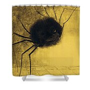 The Smiling Spider Shower Curtain