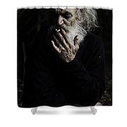 The Smoker Shower Curtain