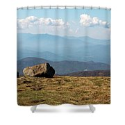 The Smokies From Roan Mountain I Shower Curtain