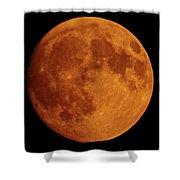The Smoky Moon Shower Curtain