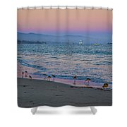 The Soft Side Of Sunset Shower Curtain