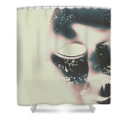 The Solace Of Stillness Shower Curtain