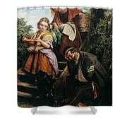 The Soldiers Return Henry Nelson Oneil Shower Curtain