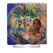 The Song Of Songs. Day Shower Curtain
