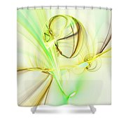 The Song Of The Sun Shower Curtain