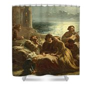The Song Of The Troubadours Shower Curtain