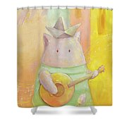 The Song Of Venice Shower Curtain