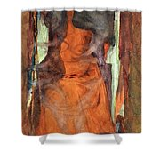 The Sorceress Shower Curtain