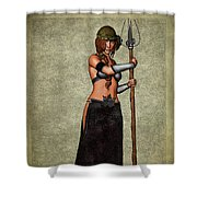 The Sorceress Mage Shower Curtain