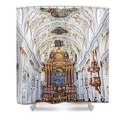 Lucerne's Jesuit Church  Shower Curtain