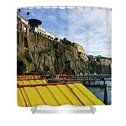 The Sorrento Coast Shower Curtain