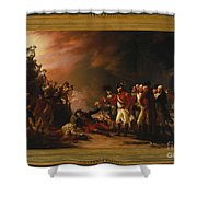 The Sortie Made By The Garrison Of Gibraltar Shower Curtain