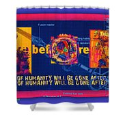 The Soul Of Humanity Will Be Gone After The Dark Shower Curtain