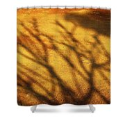 The Soundlessness Of Nature Shower Curtain