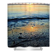 The Sound's Edge Shower Curtain