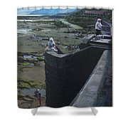 The South Bay In Scarborough. Shower Curtain