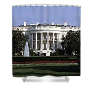 The South Side Of The White House Shower Curtain