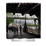 The Southbank, London Shower Curtain