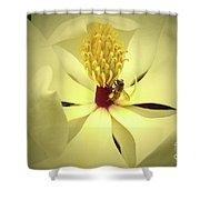 The Southern Magnolia Shower Curtain
