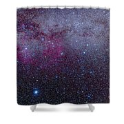 The Southern Milky Way Shower Curtain