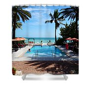 The Southernmost House Shower Curtain