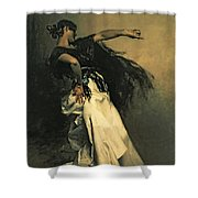 The Spanish Dancer Shower Curtain