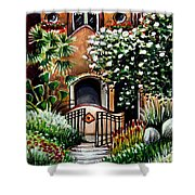 The Spanish Gardens Shower Curtain