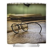 The Spectacles Shower Curtain