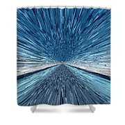 The Speed Of Light Shower Curtain